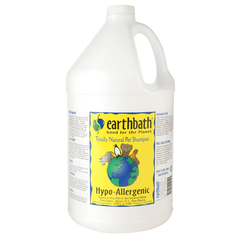 earthbath Hypo-Allergenic Shampoo 1 gal  I018662
