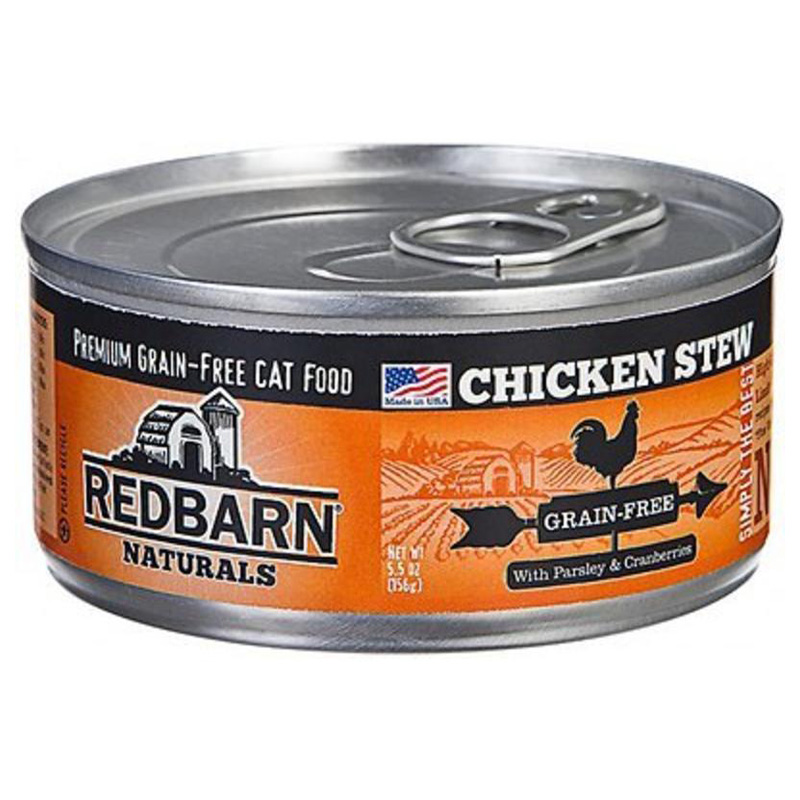 Redbarn Naturals Grain-Free Cat Food Chicken Stew Recipe 5.5 oz. I018728
