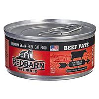 Redbarn Naturals Grain-Free Cat Food Beef Pate for Urinary Support 5.5 oz. I018733