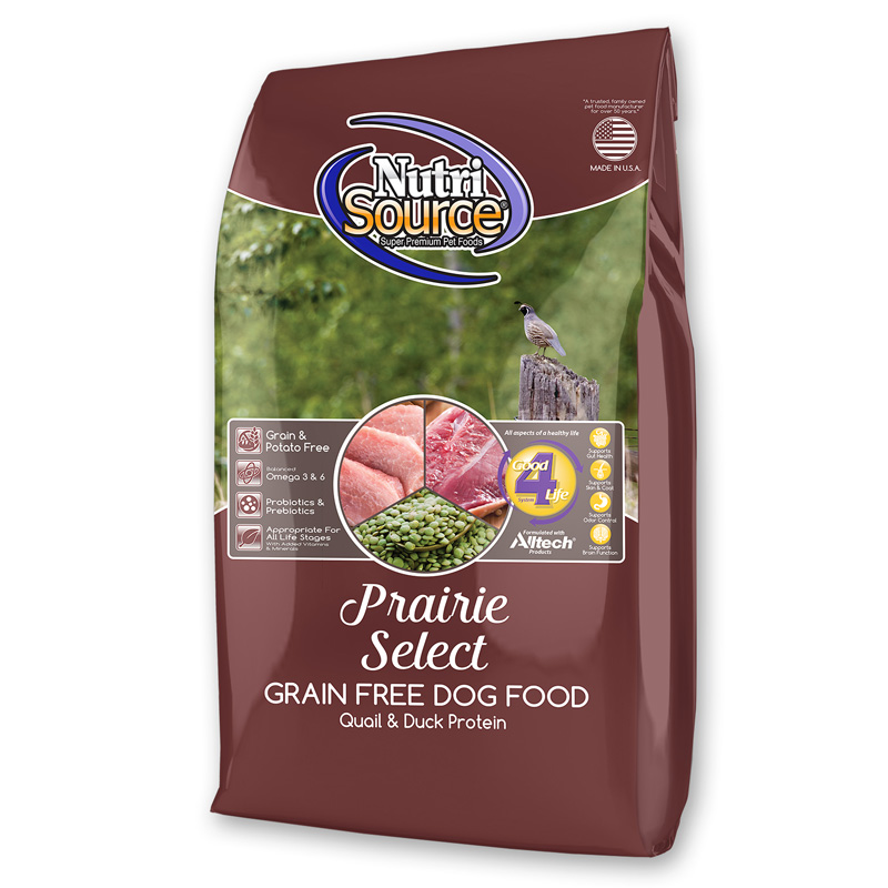 NutriSource Prairie Select Grain Free Dog Food  I018784b