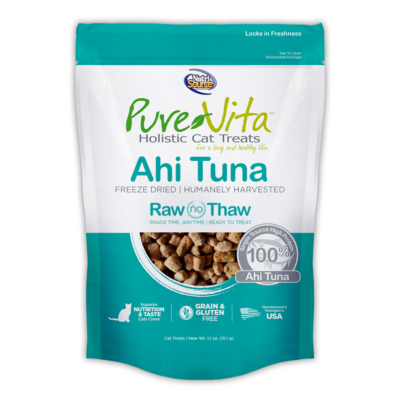 PureVita Freeze Dried Ahi Tuna Cat Treats 1.1 oz I018865