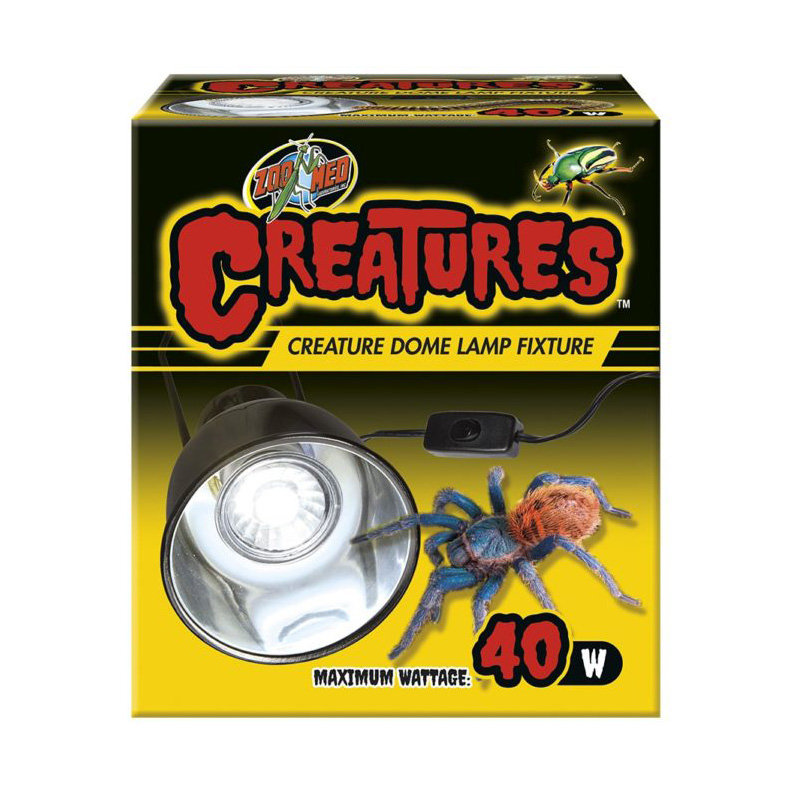 Zoo Med Creatures Dome Lamp Fixture 40W I019109