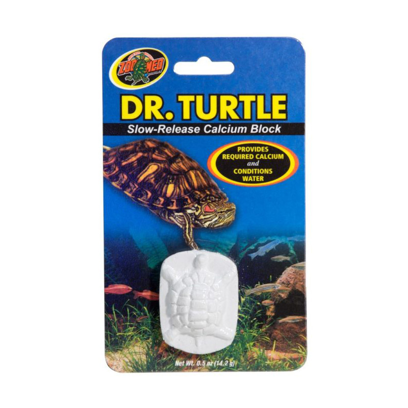 Zoo Med Dr. Turtle Slow-Release Calcium Block I019116