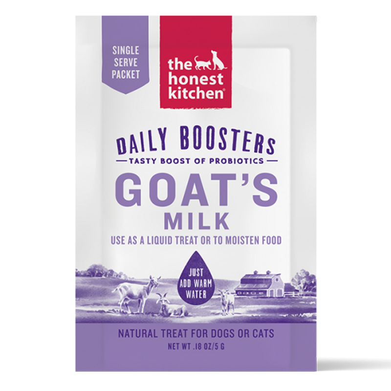 The Honest Kitchen Daily Boosters Goat's Milk Single Serve Pouch I019120