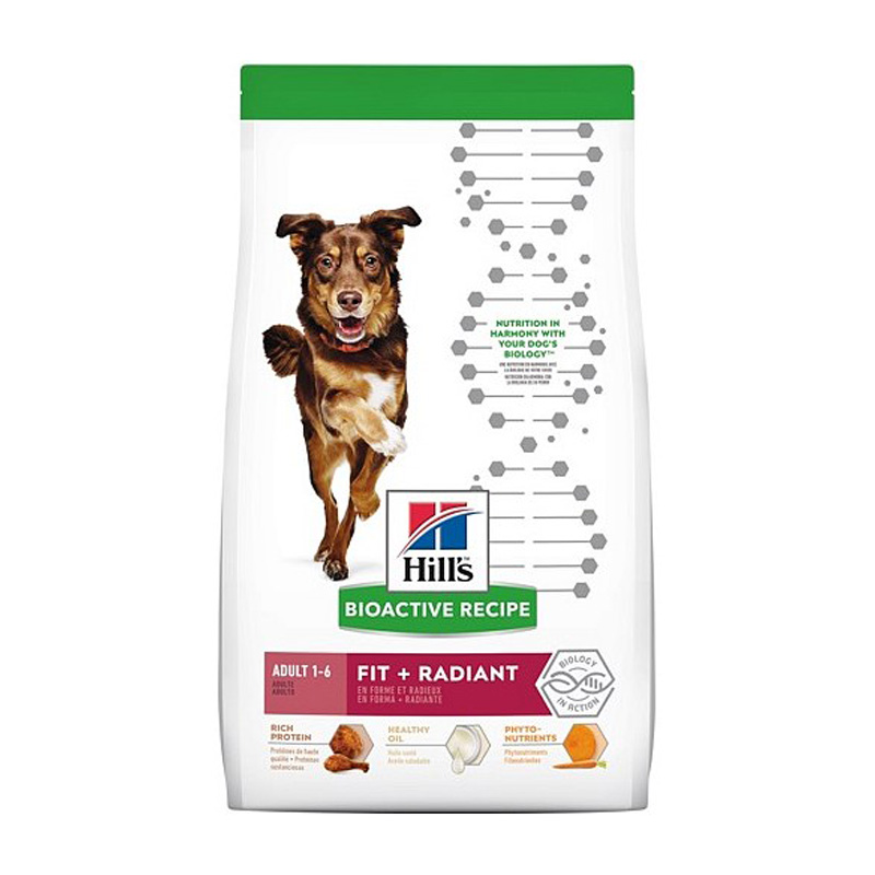 Hill's Bioactive Recipe Adult Fit + Radiant Dog Food  I019157b