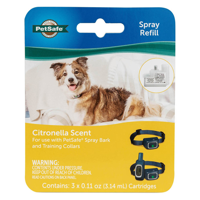 PetSafe Citronella Spray Refill Cartridges 3 pk  I019184