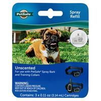 PetSafe Unscented Spray Refill Cartridges 3 pk I019185