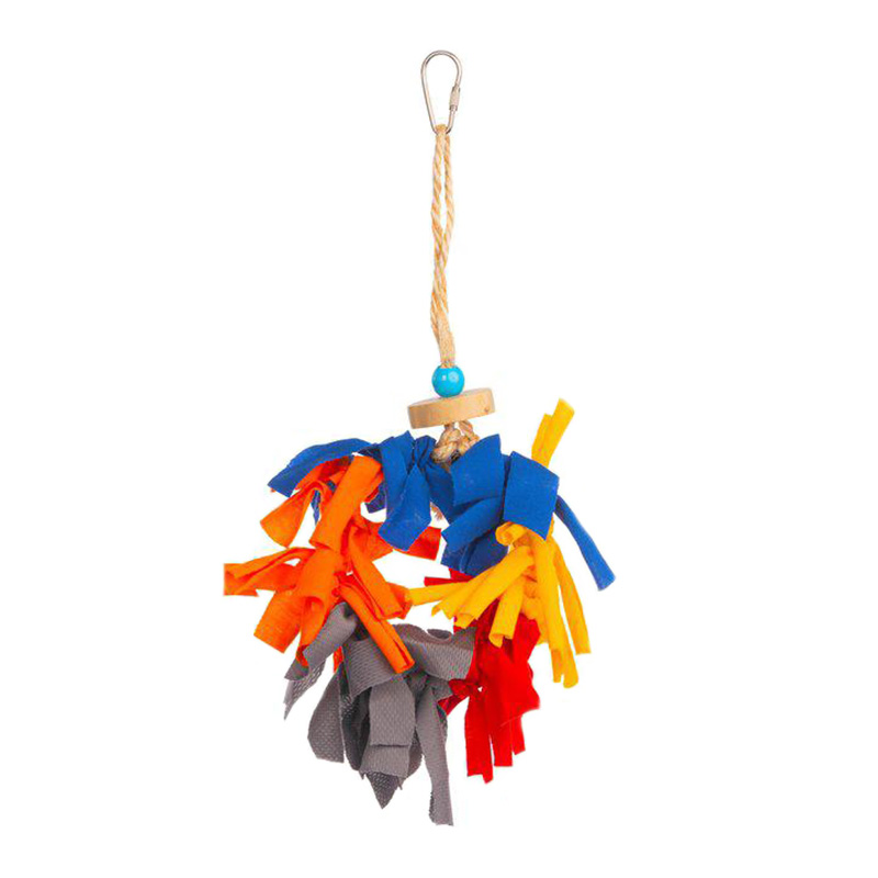 Prevue Pet Products Menagerie Bird Toy 6 in x 2 in x 10 in I019200