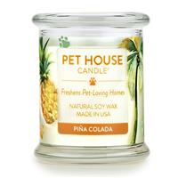 One Fur All Pet House Candle Jar Pina Colada 8.5 oz I019369