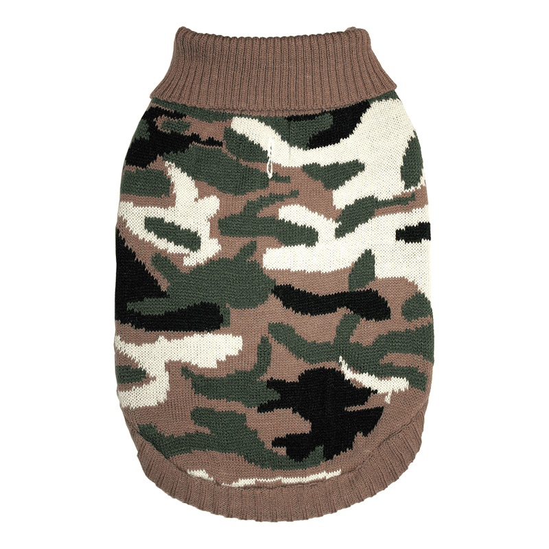 Ethical Products Fashion Pet Camo Sweater I019391b