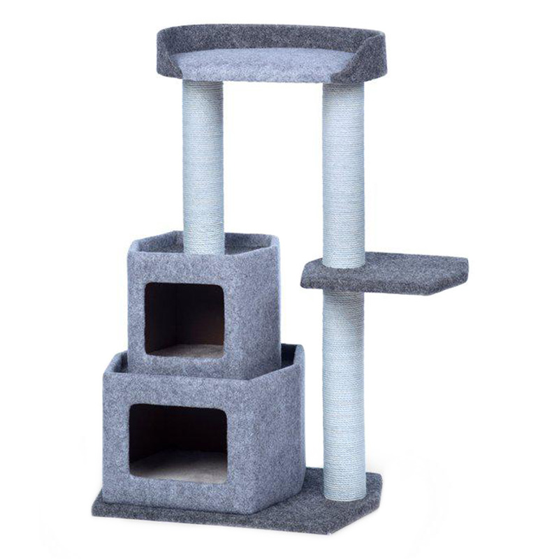 Kitty Power Paws Sky Condo Cat Tower 31 1/2 in x 38 1/4 in  I019427
