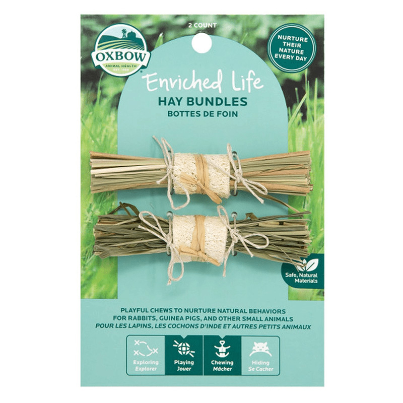 Oxbow Enriched Life Hay Bundles 2 ct I019428