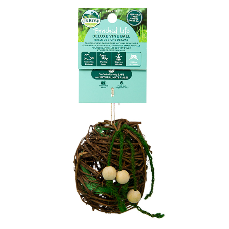Oxbow Enriched Life Deluxe Vine Ball Chew  I019435