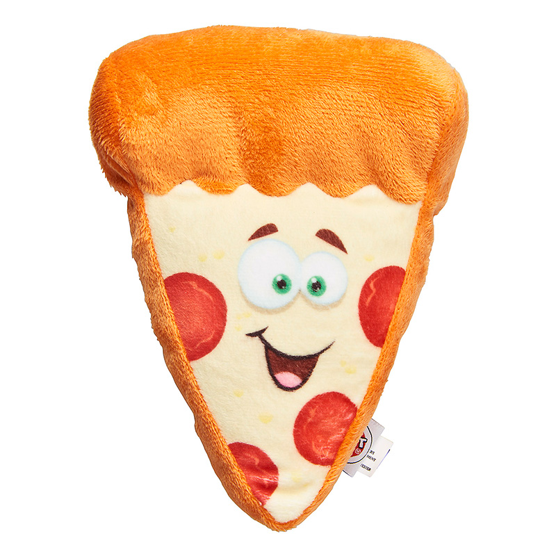 Spot Fun Food Pizza Dog Toy 6.5 in I019535