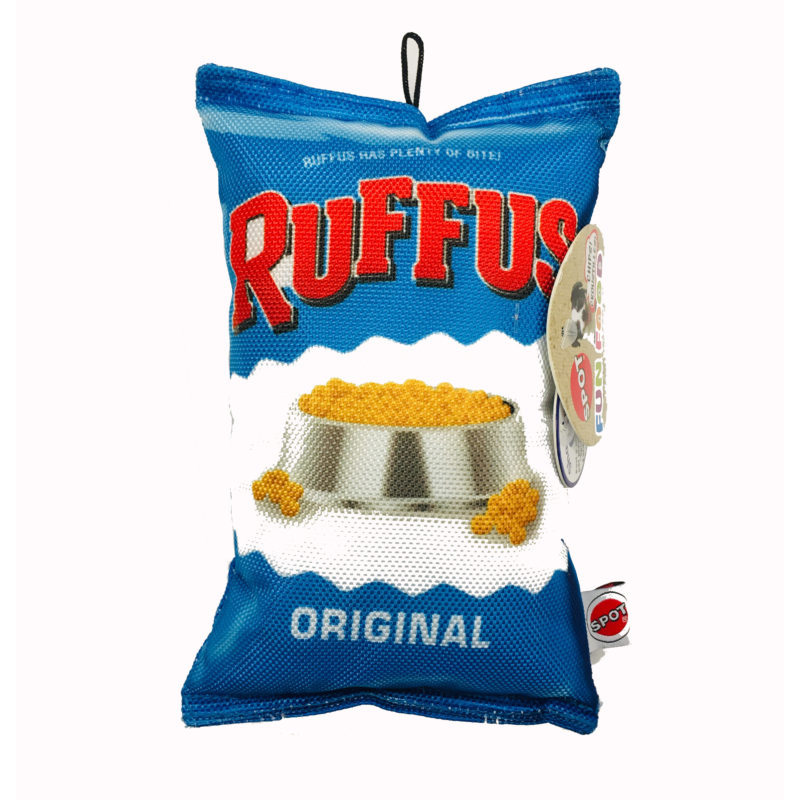 Spot Fun Food Ruffus Chips Dog Toy 8 in I019537