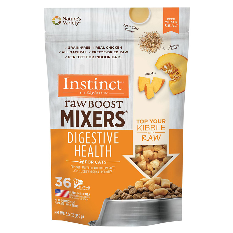 Nature's Variety Instinct Raw Boost Mixers Digestive Health for Cats I019581b