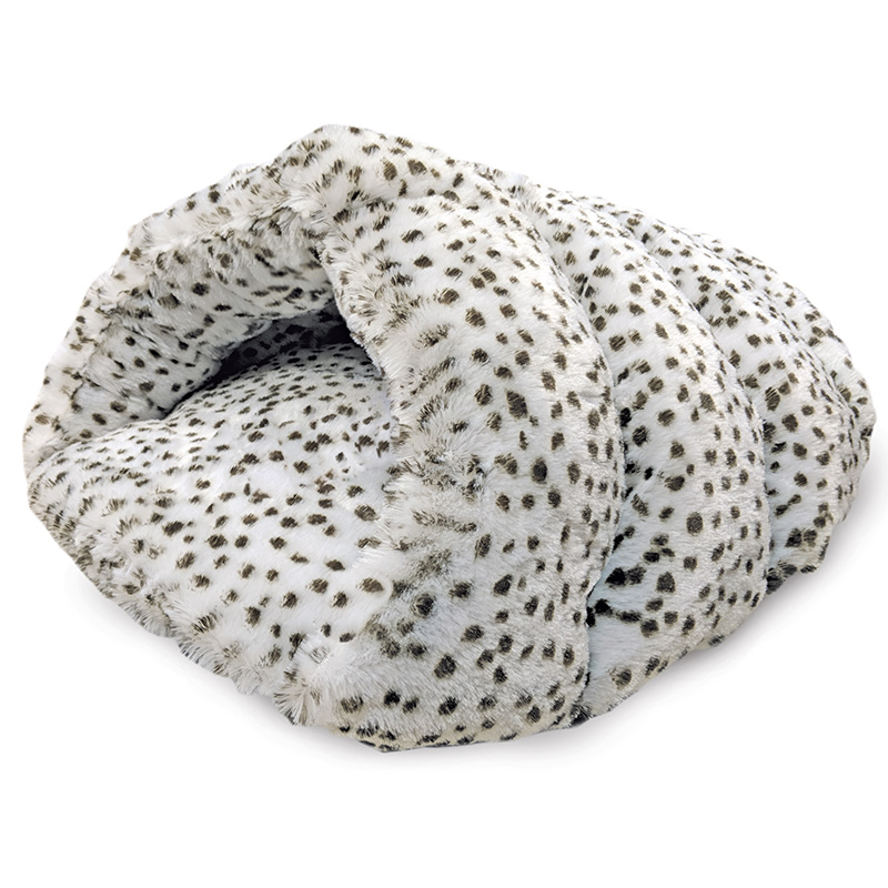 Ethical Sleep Zone Snow Leopard Cuddle Cave 22 in I019588