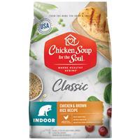 Chicken Soup for the Soul Classic Indoor Chicken & Brown Rice Recipe Cat Food 4.5 lbs  I019630b