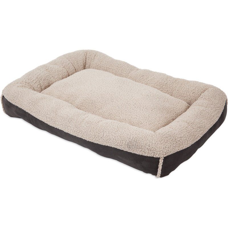Aspen Pet Low Bolster Pet Bed I019661