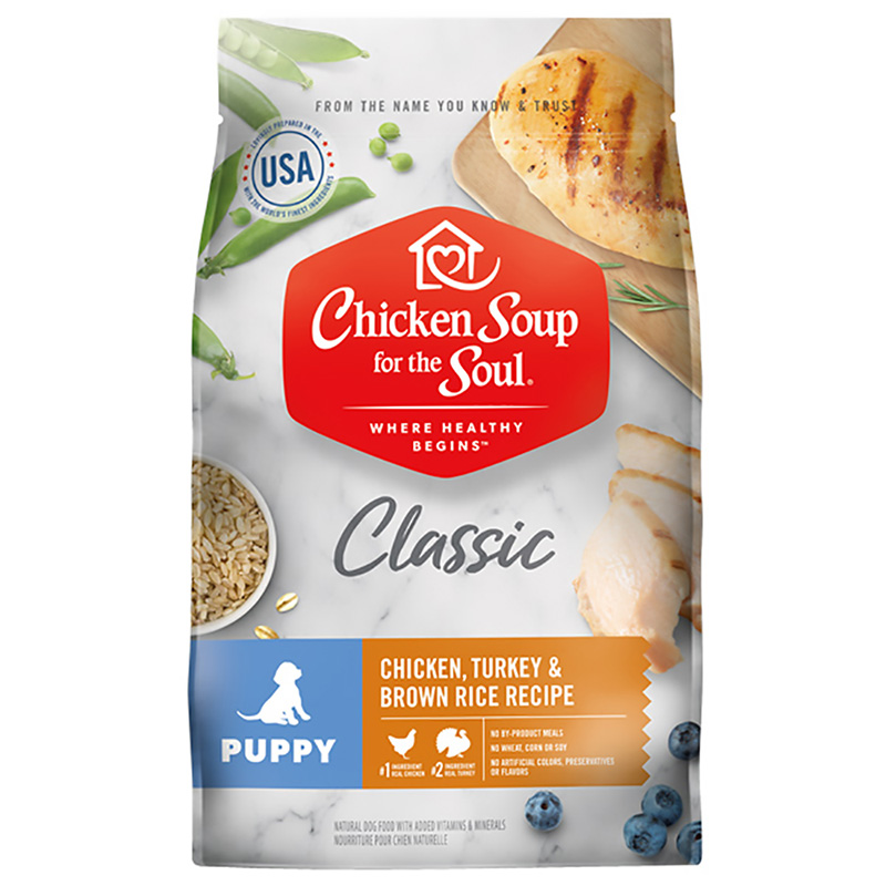 Chicken Soup for the Soul Classic Puppy Chicken, Turkey & Brown Rice Recipe  I019665b