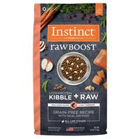 Instinct Raw Boost Grain-Free Recipe with Real Salmon Dog Food I019689b
