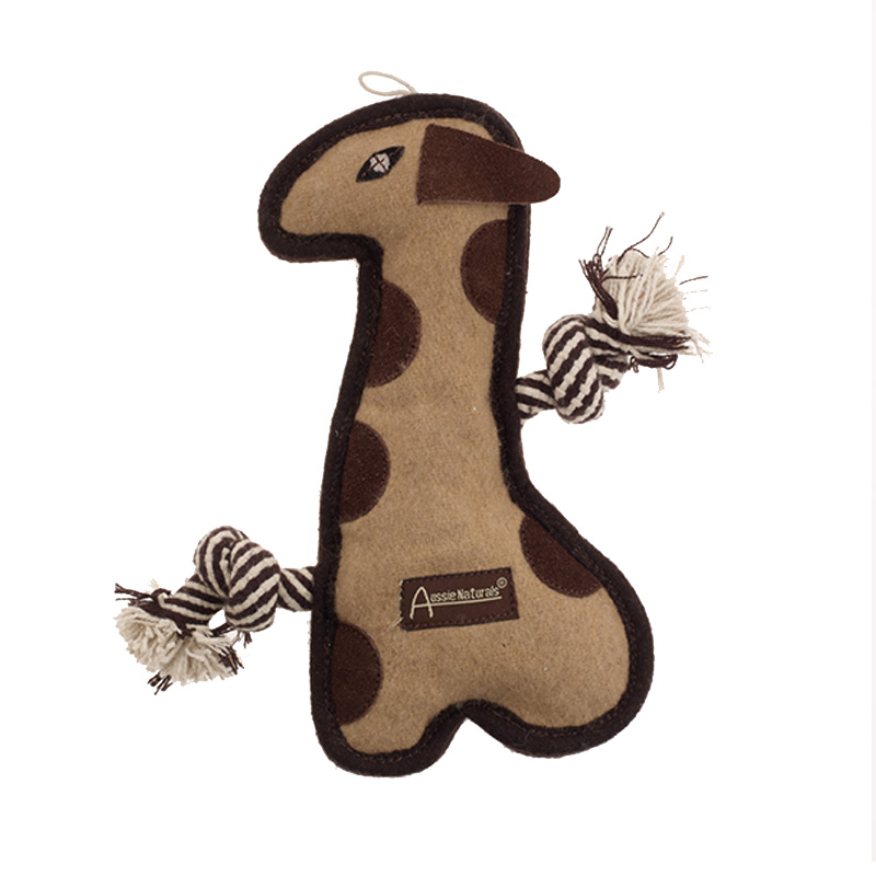 Aussie Naturals Tuff Mutts Giraffe Dog Toy I019735