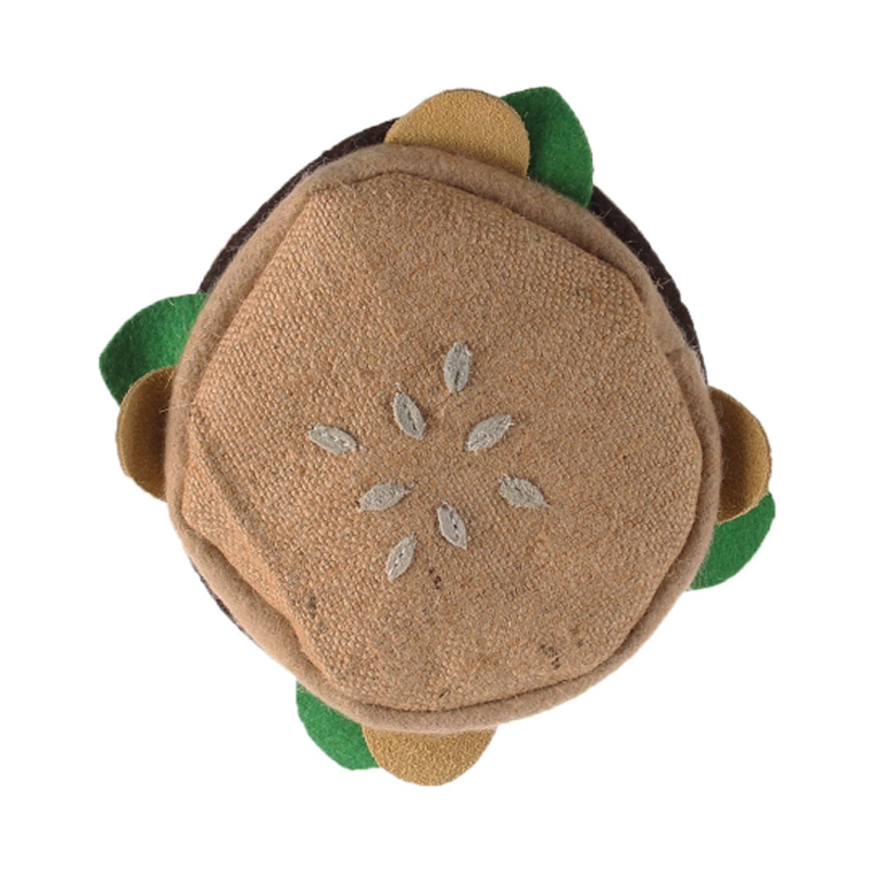 Aussies Naturals Brunchies Burger Dog Toy I019739