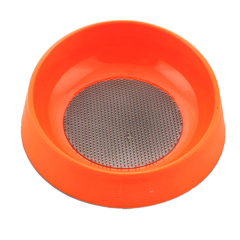 Hyper Pet Oral Health Bowl for Cats & Small Dogs Orange I019781