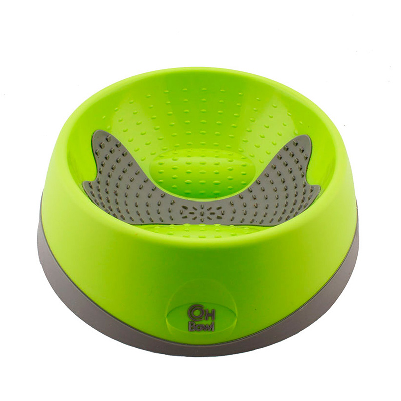 Hyper Pet Oral Health Bowl for Dogs Green I019782b