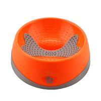 Hyper Pet Oral Health Bowl for Dogs Orange I019783b