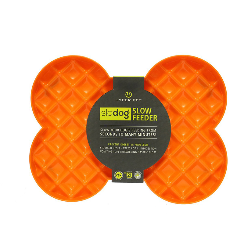 Hyper Pet SloDog Feeder Orange I019786