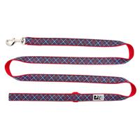 RC Pet Products Navy Tartan Lead 1 in x 6 ft  I019907