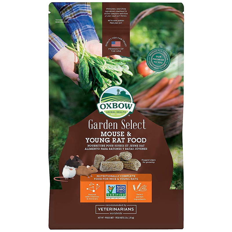 Oxbow Garden Select Mouse & Young Rat Food 2 lbs. I019944