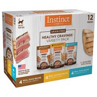 Instinct Healthy Cravings Variety Pack for Cats 3 oz 12 ct  I019984
