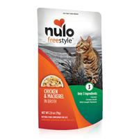 Nulo Freestyle Chicken & Mackerel in Broth Natural Food Complement for Cats I020224