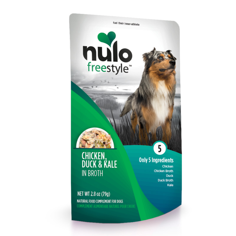 Nulo Freestyle Chicken, Duck & Kale in Broth Natural Food Complement for Dogs I020227