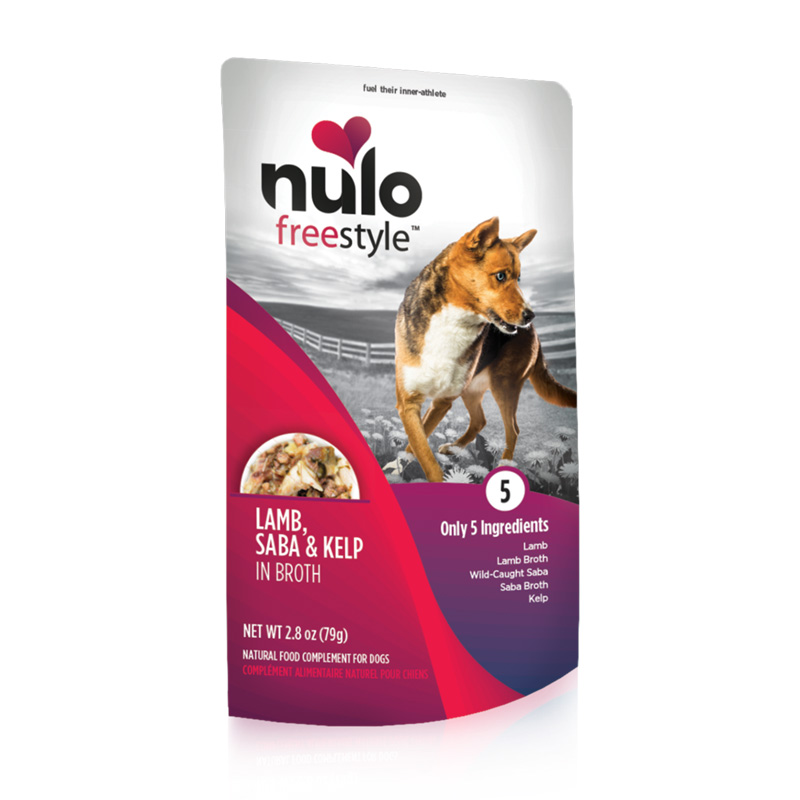 Nulo Freestyle Lamb, Saba & Kelp in Broth Natural Food Complement for Dogs I020230