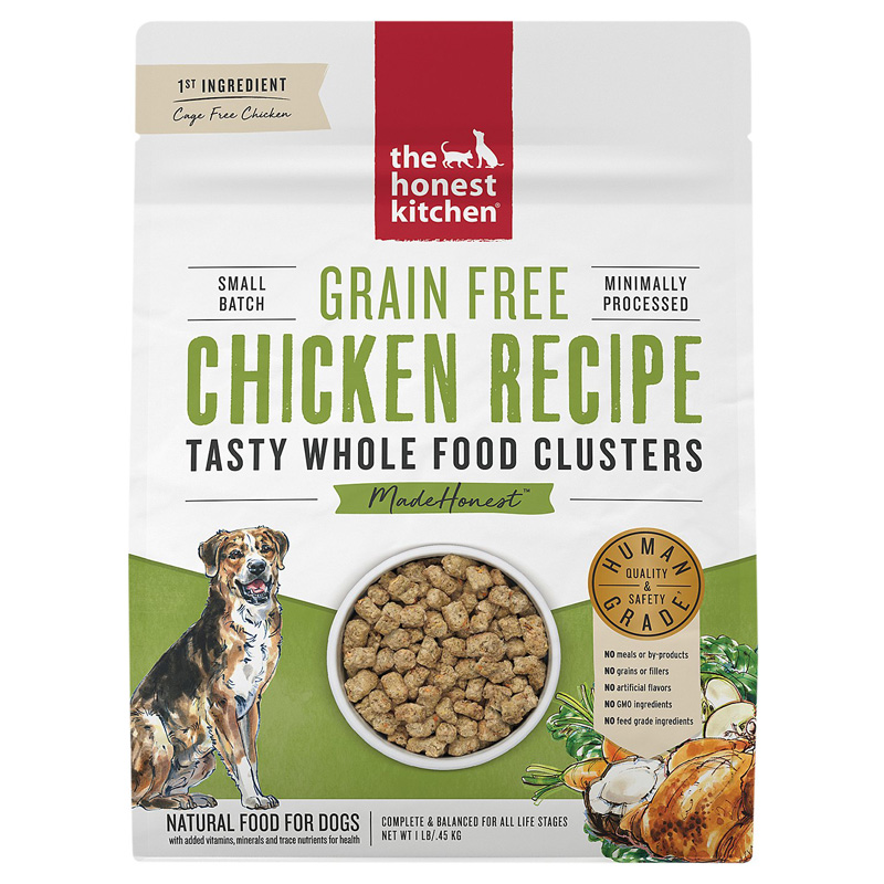 The Honest Kitchen Grain Free Whole Food Clusters Chicken Recipe I020235b