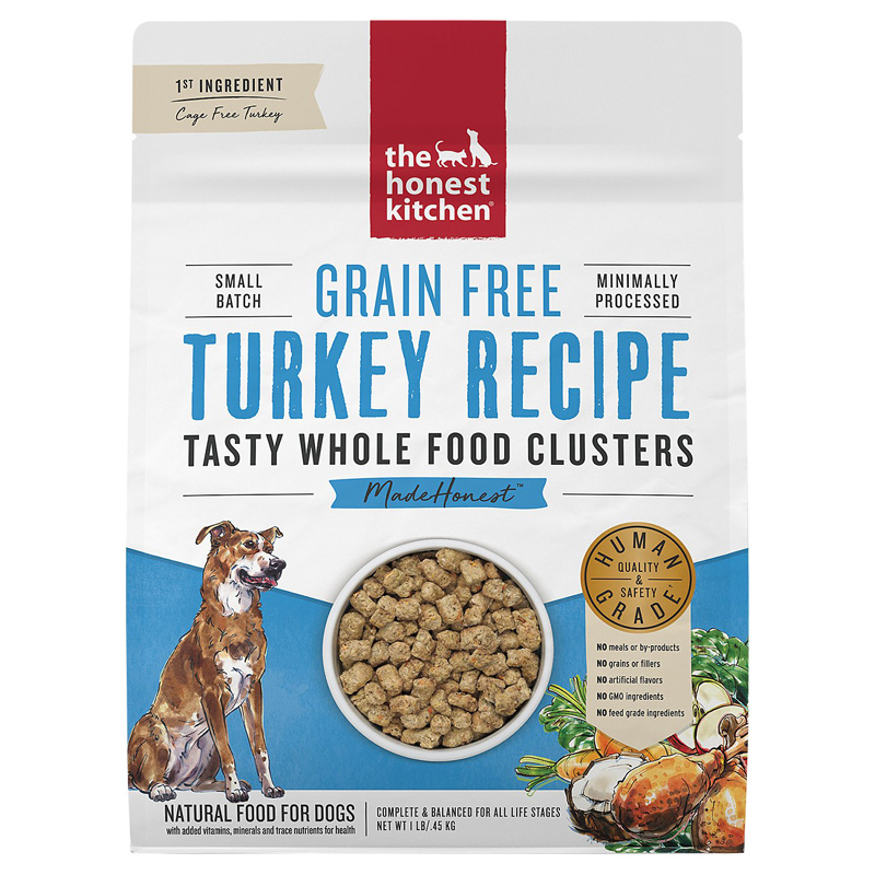 The Honest Kitchen Grain Free Whole Food Clusters Turkey Recipe I020236b