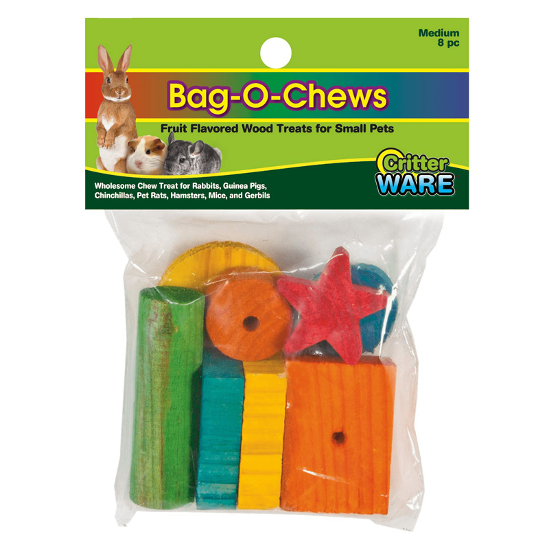 WARE Bag-O-Chews Small Animal Treat Medium 8 piece I020282