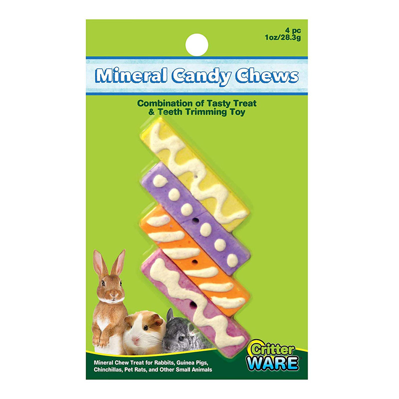WARE Mineral Candy Chews Small Animal Treat 4 piece I020283