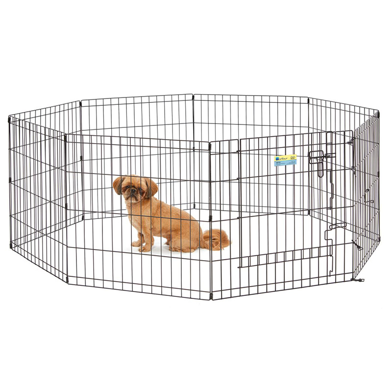 MidWest Contour Exercise Pen with Door I020377b
