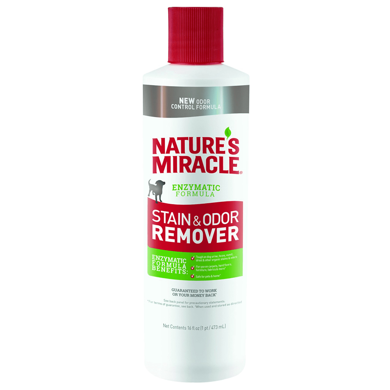 Nature's Miracle Stain & Odor Remover Nature's Enzymatic Formula 16 oz. I020430