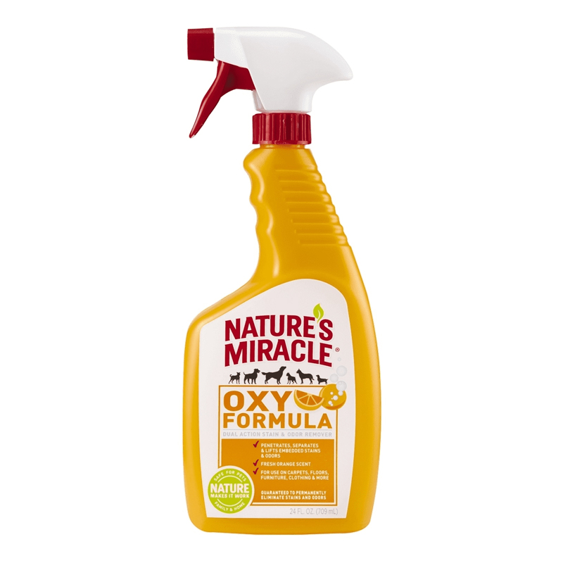 Nature's Miracle Oxy Formula Stain & Odor Remover 24 oz Spray I020432