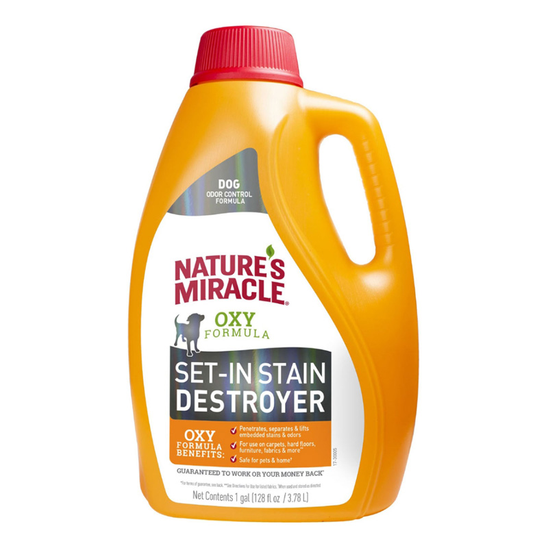Nature's Miracle Oxy Formula Stain & Odor Remover 1 Gallon I020433