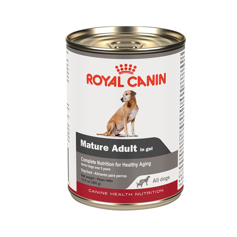 Royal Canin Mature Adult in gel Canned Dog Food 13.5 oz. I020497