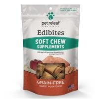 Pet Releaf Edibites Sweet Potato Pie Soft Chews for Dogs I020736b