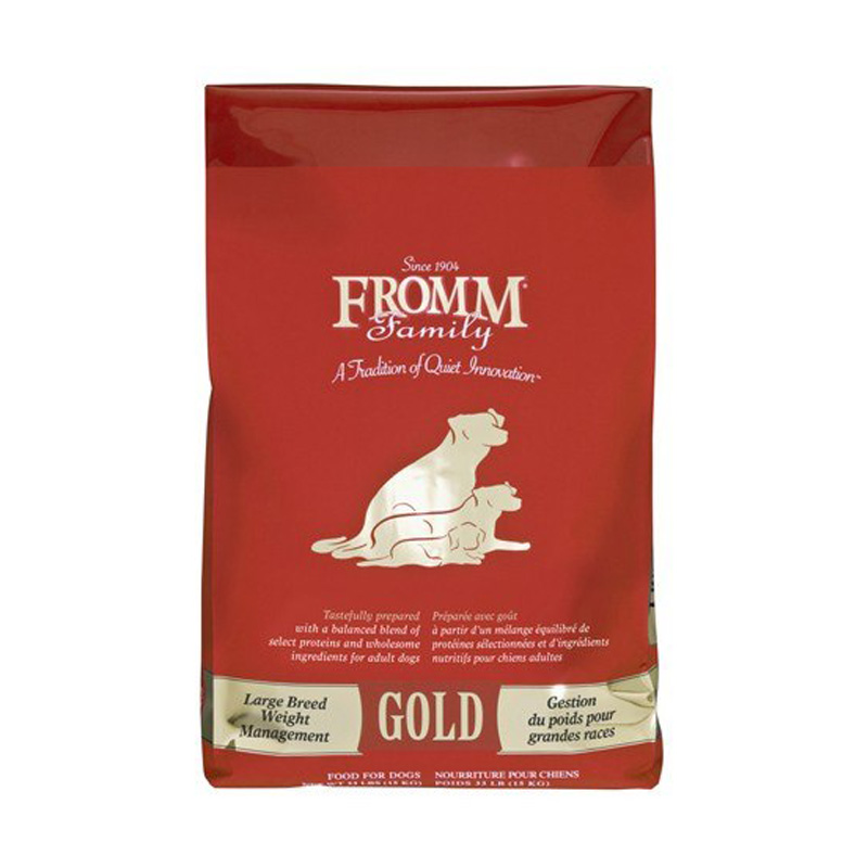 Fromm Gold Large Breed Weight Management Dry Dog Food  I020738b