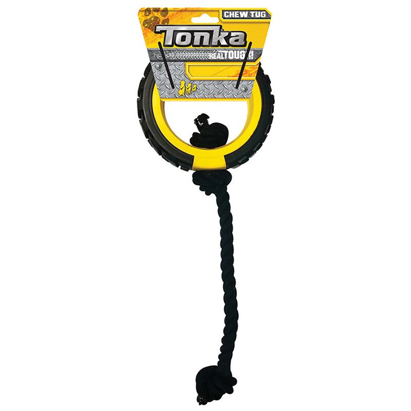 Tonka Mega Tread Rope Tug Dog Toy I020753