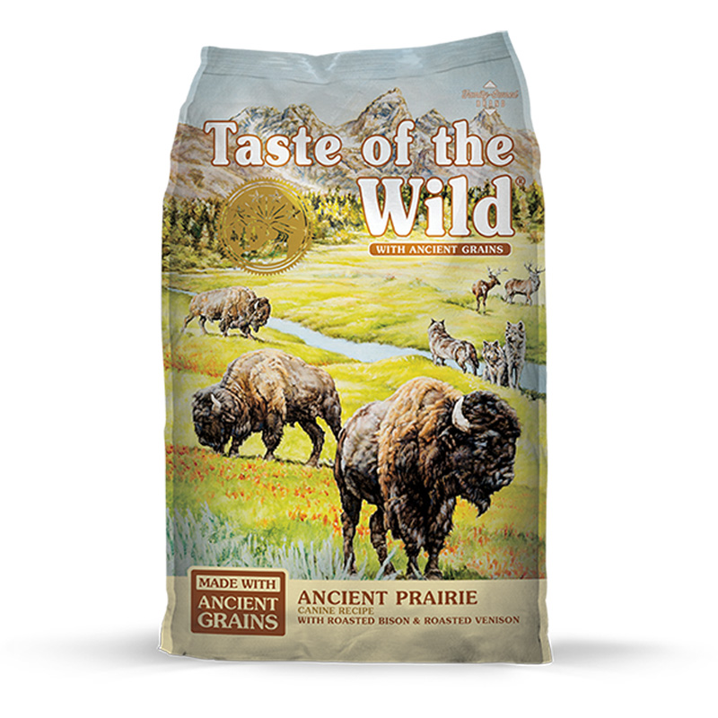 Taste of the Wild Ancient Prairie Canine Recipe with Roasted Bison & Roasted Venison I020782b
